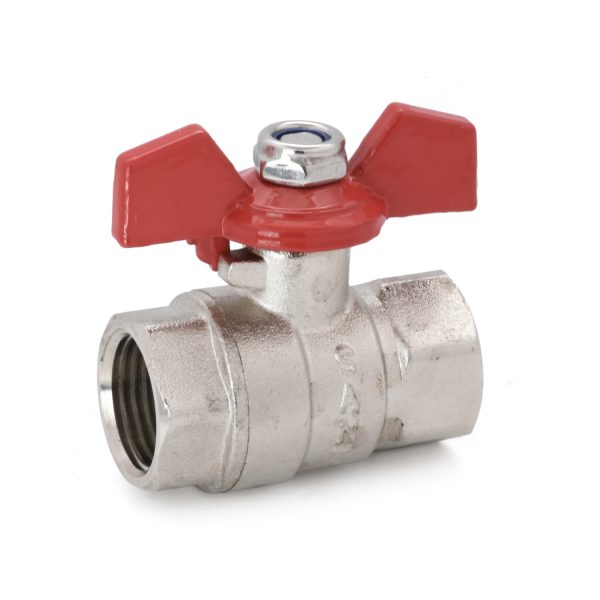 FBV3 - Brass Ball Valve with T Handle