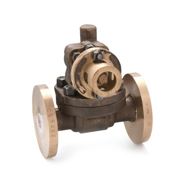 Bronze Parallel Slide Blow Off Valve