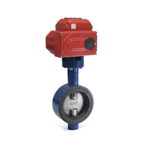 C.I. Butterfly Valve with Electric Actuator