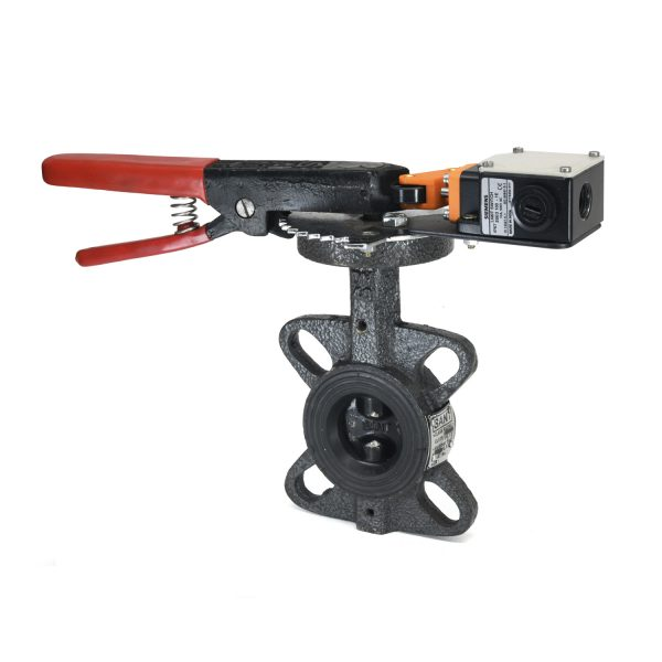 C.I. Butterfly Valve with Limit Switch