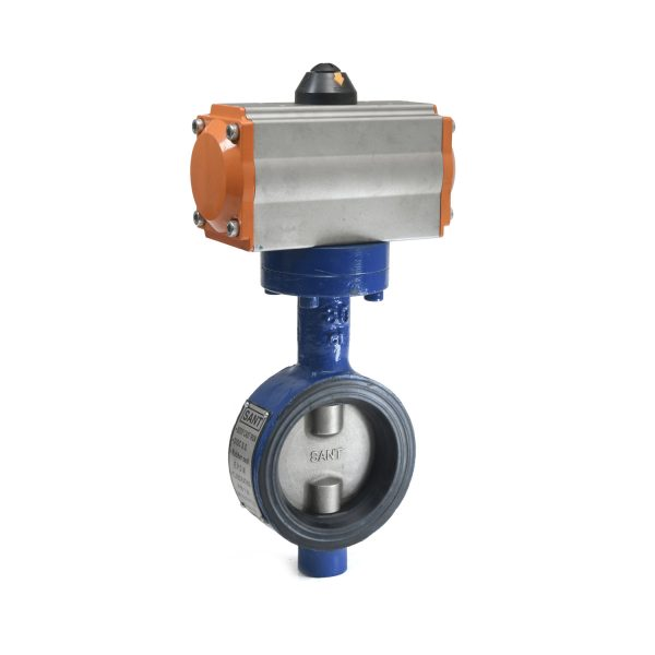 CIBFP - C.I. Butterfly Valve with Pneumatic Actuator