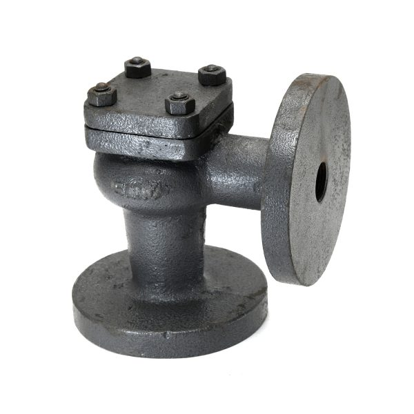Cast Iron Right Angle Lift Check Valve