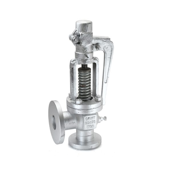 Cast Steel Single Post Full Lift Safety Valve