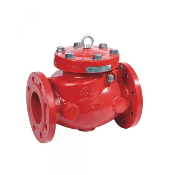 H44X2 - Flanged Resilient Swing Check Valve