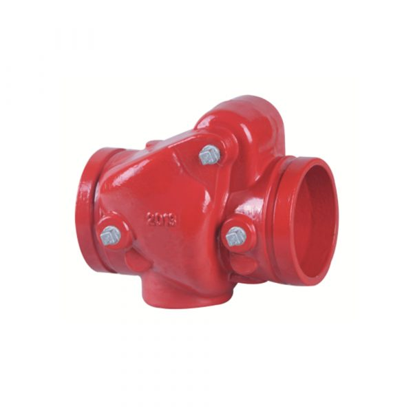 H84X - Grooved Resilient Swing Check Valve