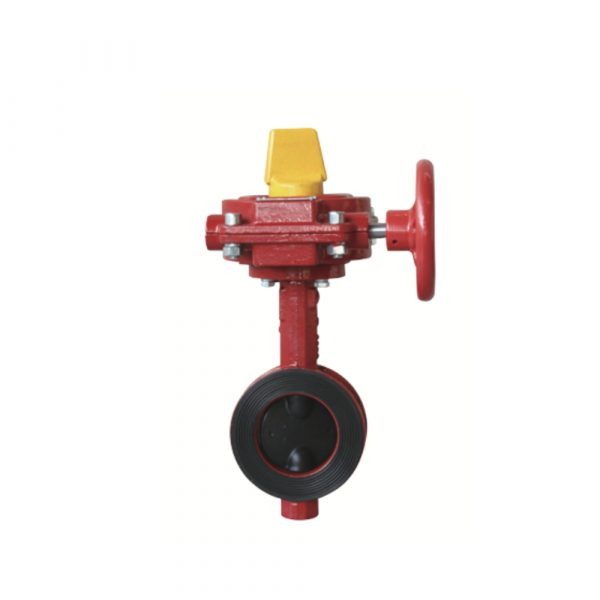 Wafer Butterfly Valve with Tamper Switch