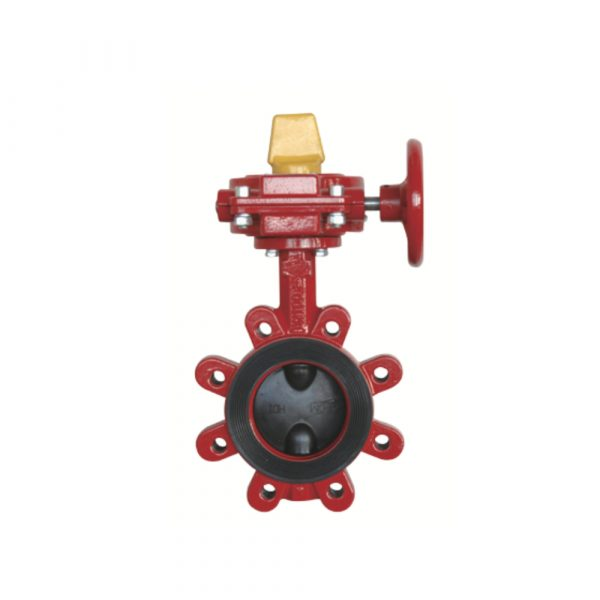Lugged Wafer Butterfly Valve with Tamper Switch