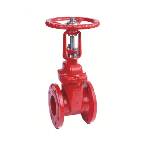 XZ41X - BS5163 Flanged Resilient OS&Y Gate Valve