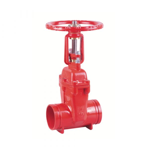XZ81X - Grooved Resilient OS&Y Gate Valve
