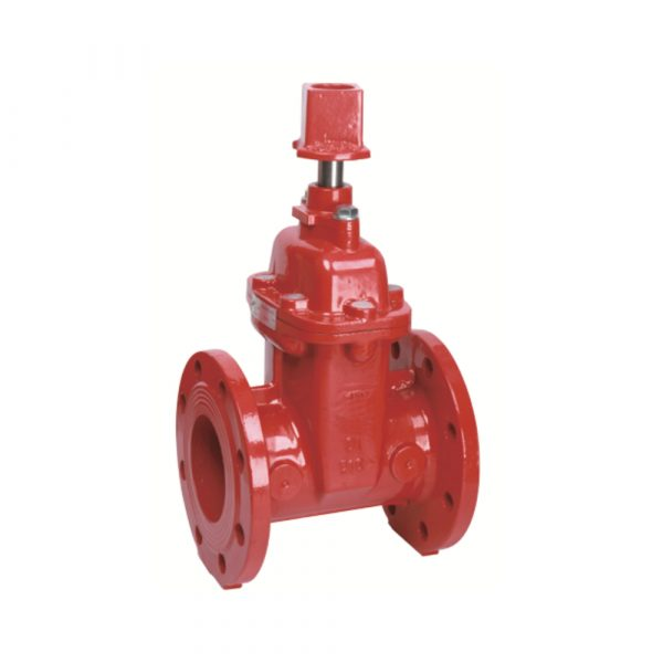 BS Flanged Resilient NRS Gate Valve