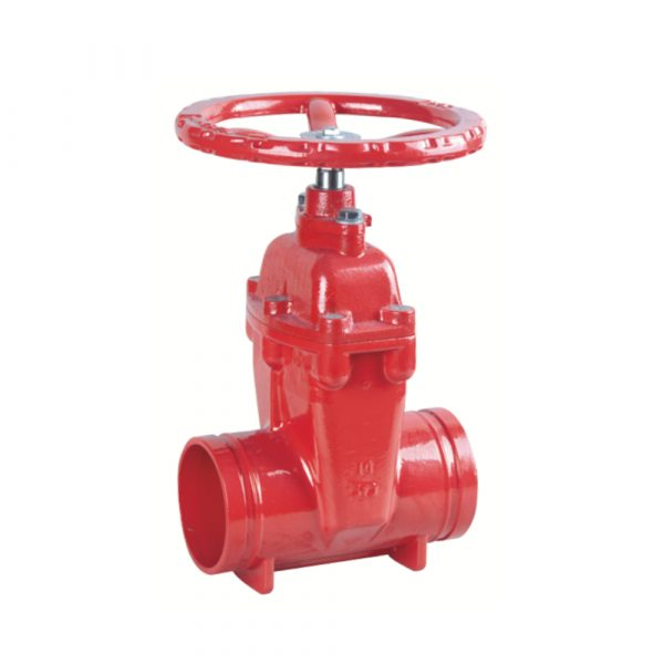 Z85X - Grooved Resilient NRS Gate Valve