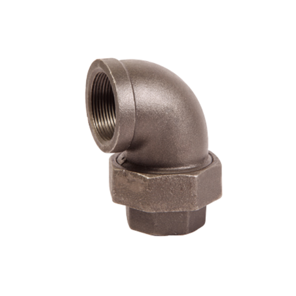 Union Elbow, F/F, Conical Joint