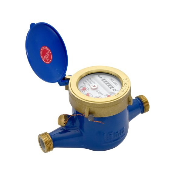 WM1 - Sant Brass Water Meter Multi – Jet (Dry Dial)